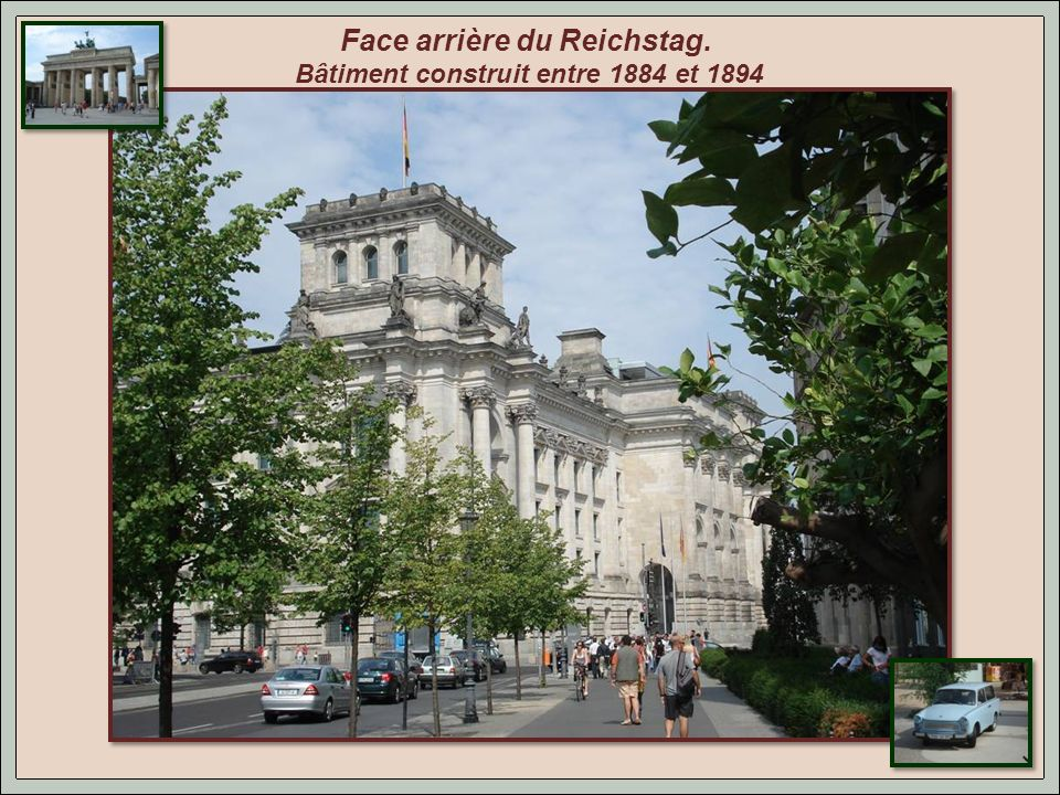 Le Reichstag.