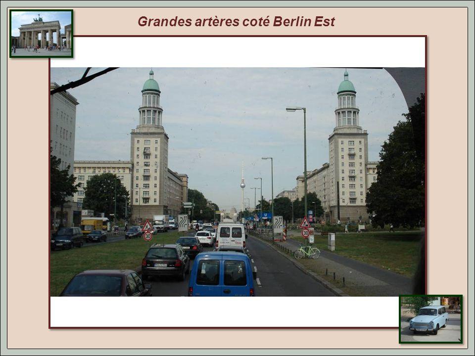 La tour de la télévision, emblème de Belin Est. Avec 368 m de haut, elle offre une vue à 40 km.