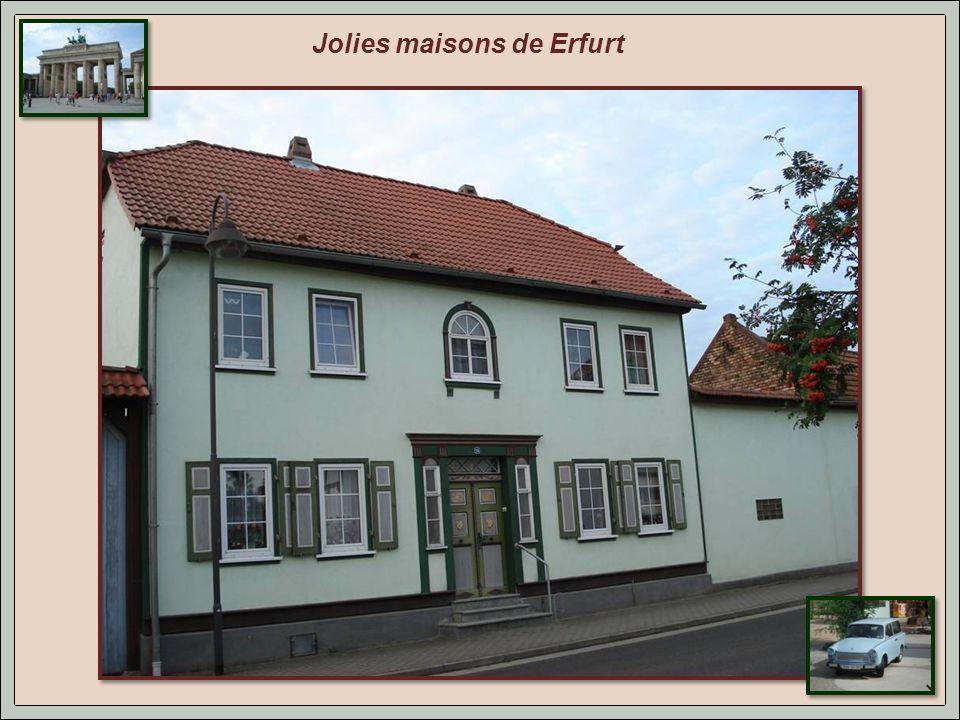 Petit arrêt à Erfurt, 300 km avant Berlin