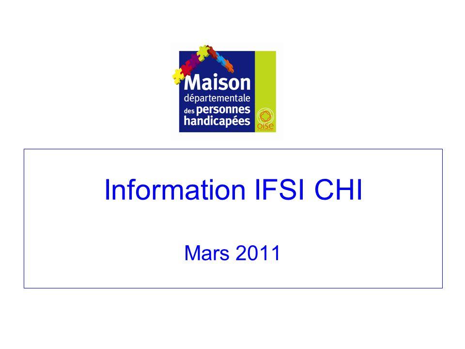Information IFSI CHI Mars 2011