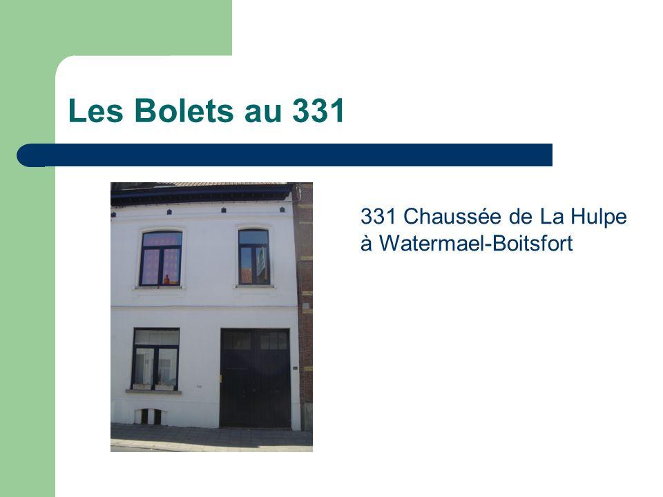 Les Bolets au 331 331 Chaussée de La Hulpe à Watermael-Boitsfort