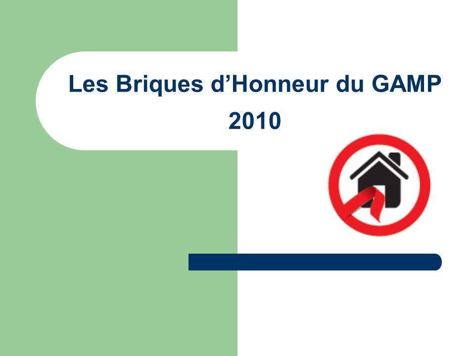 Les Briques dHonneur du GAMP 2010