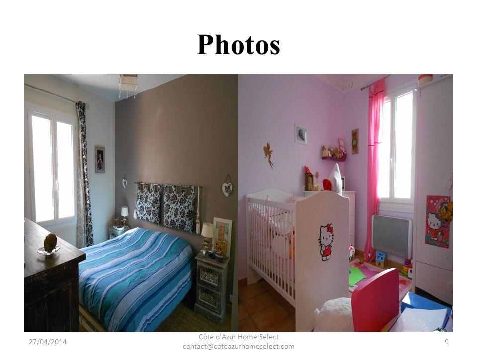 Photos 27/04/2014 Côte d Azur Home Select contact@coteazurhomeselect.com 10