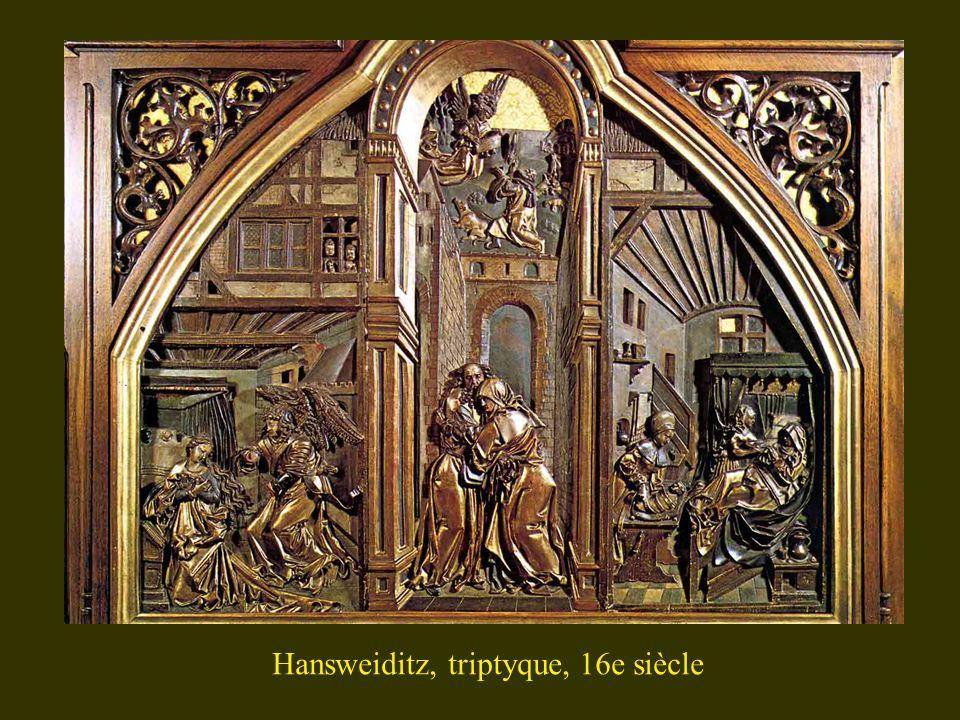 Hansweiditz, triptyque, 16e siècle