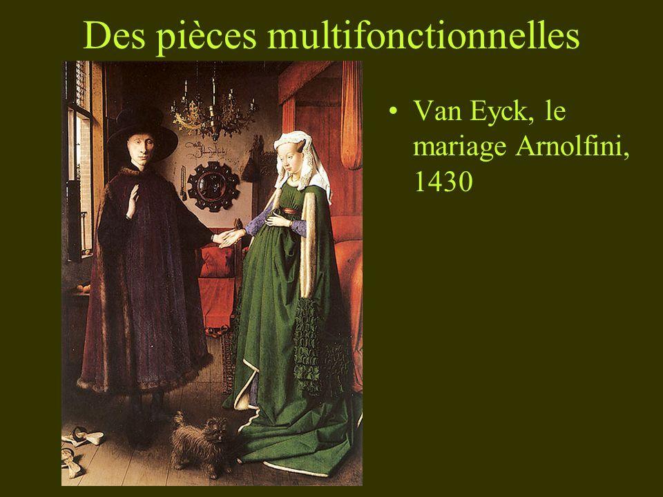 Des pièces multifonctionnelles Van Eyck, le mariage Arnolfini, 1430