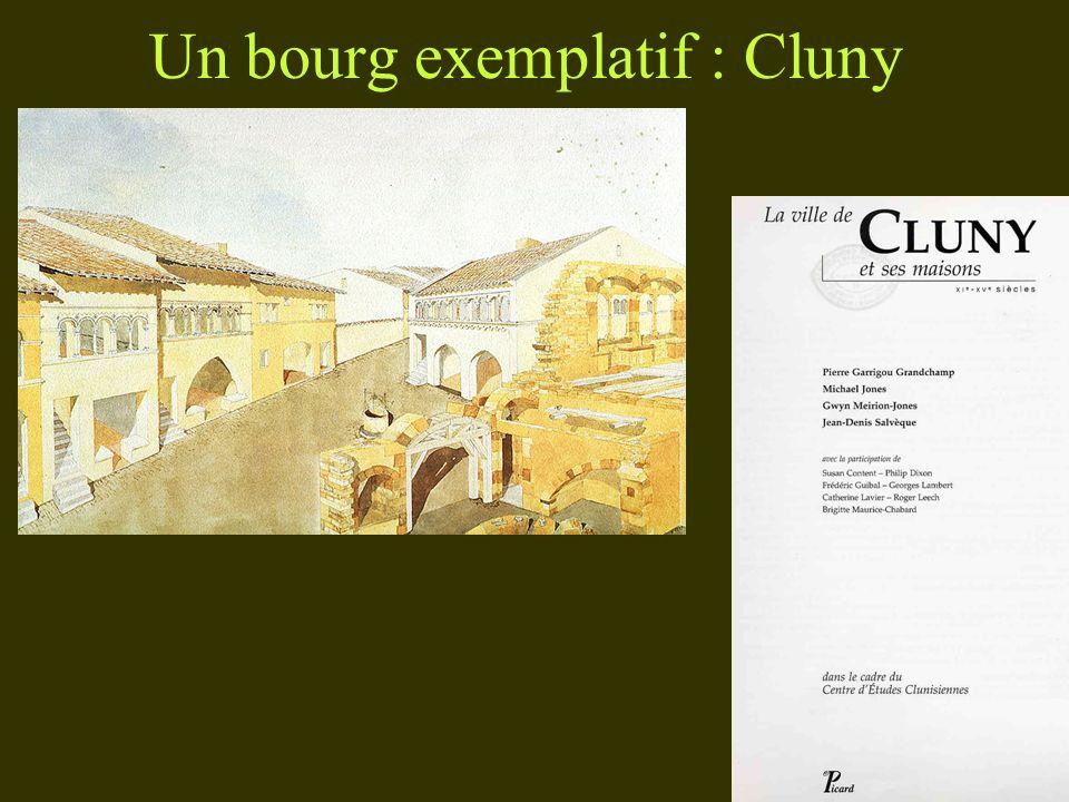 Un bourg exemplatif : Cluny
