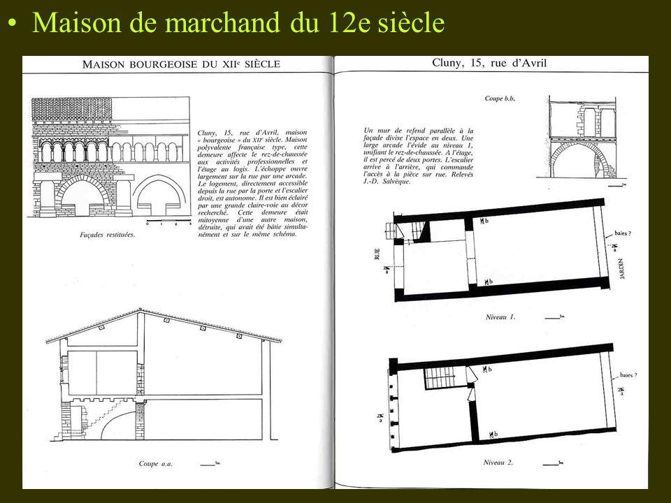 Maison de marchand du 12e siècle