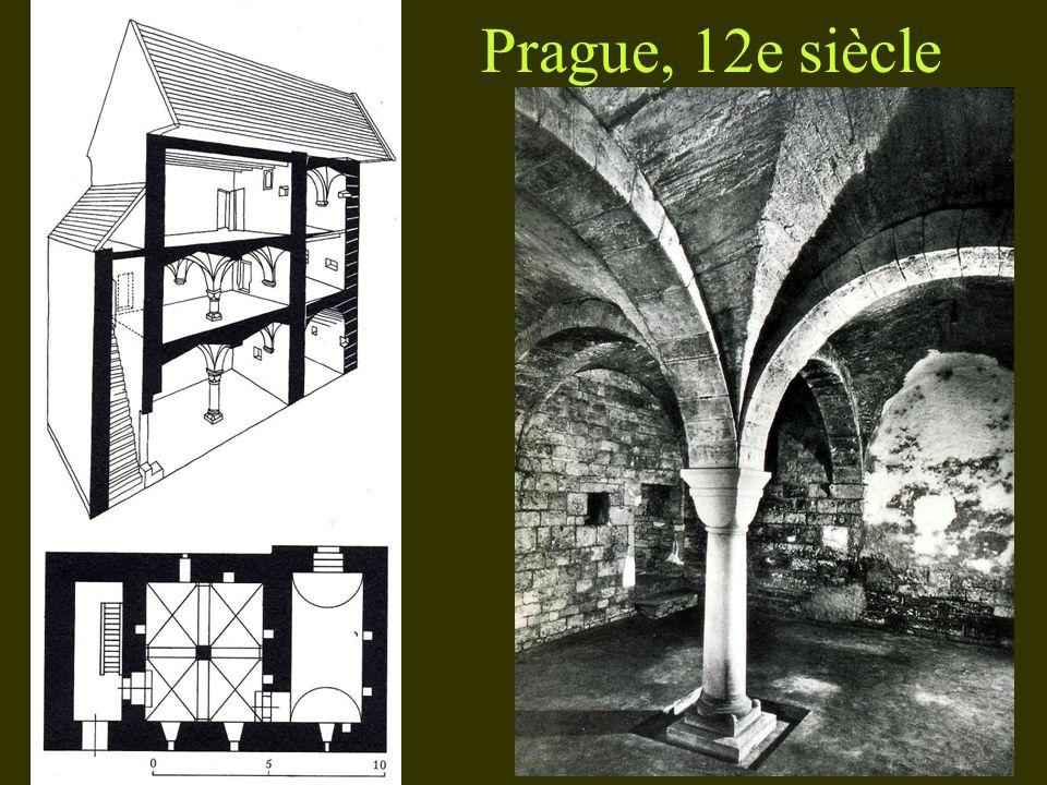 Prague, 12e siècle
