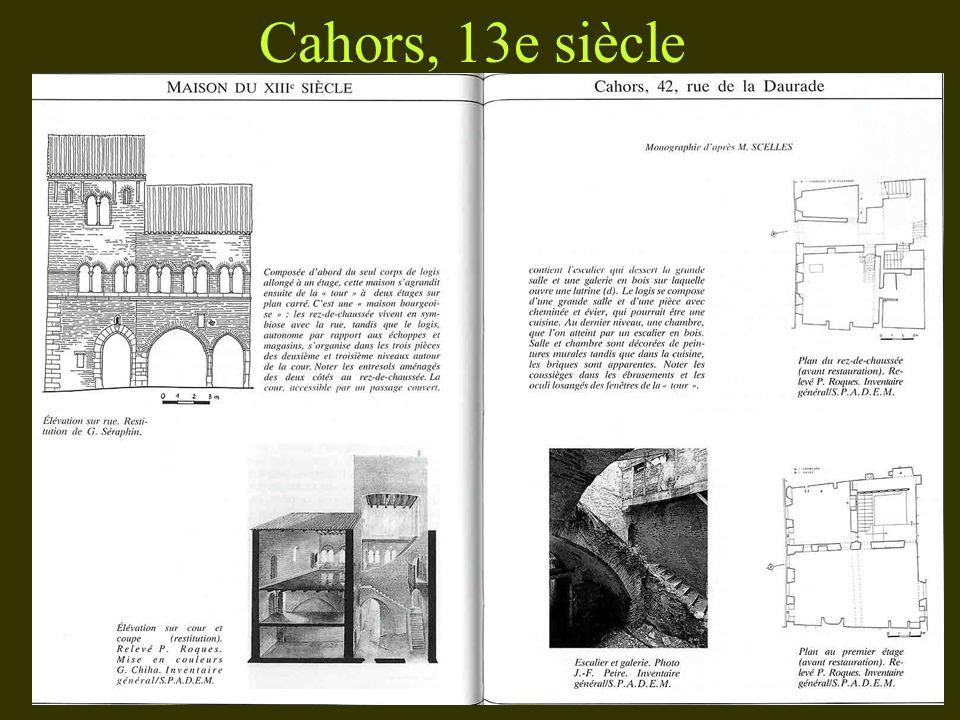 Cahors, 13e siècle