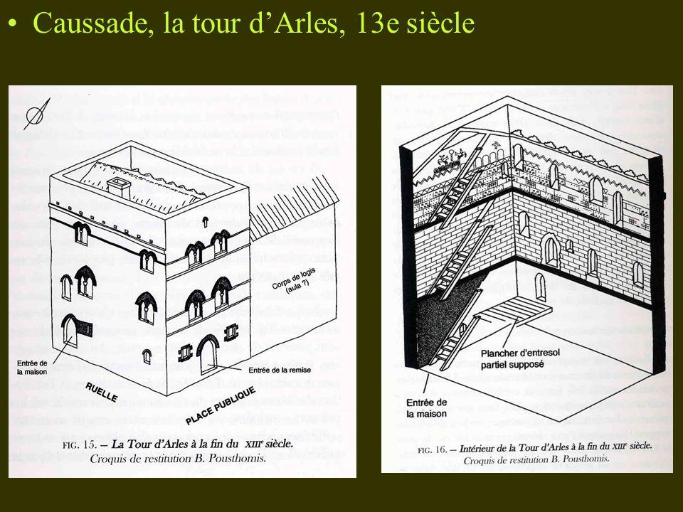 Caussade, la tour dArles, 13e siècle