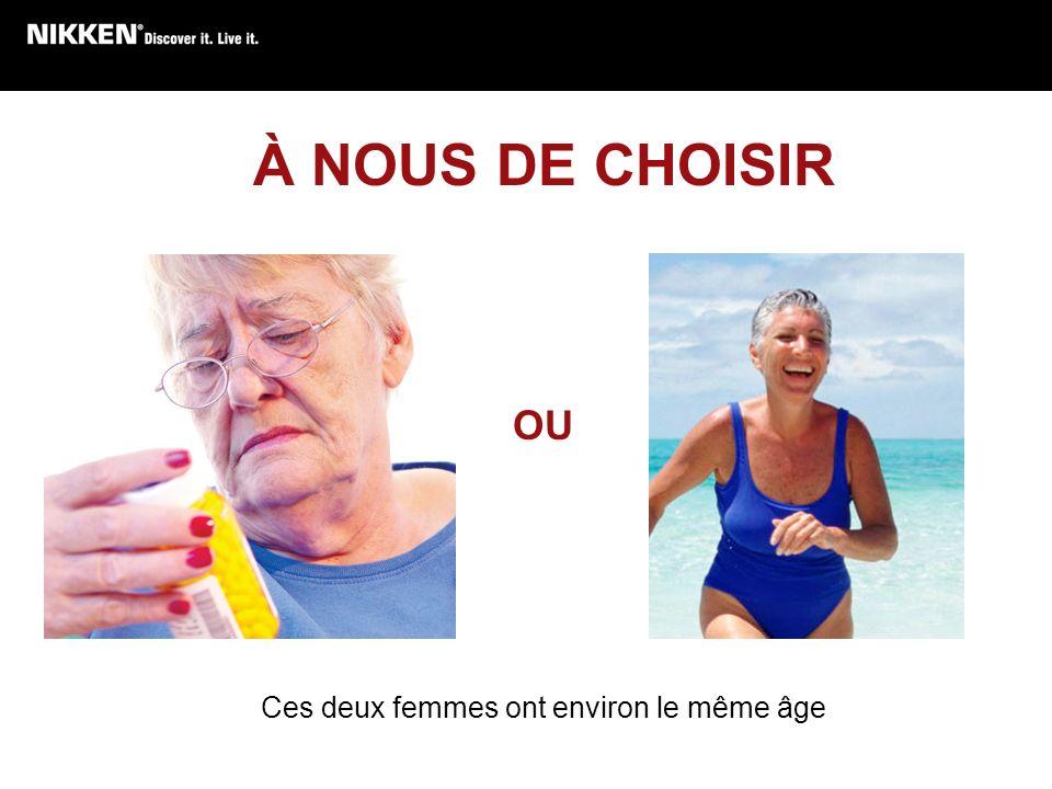 À NOUS DE CHOISIR OU Ces deux femmes ont environ le même âge