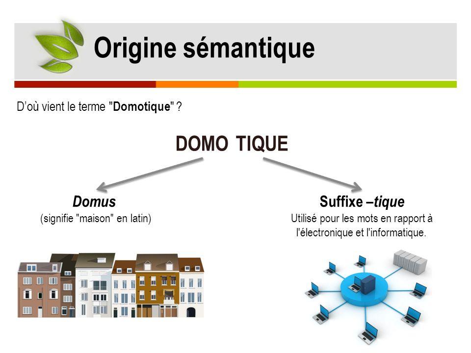 Origine sémantique © http://jl.franchomme.free.fr Domus (signifie