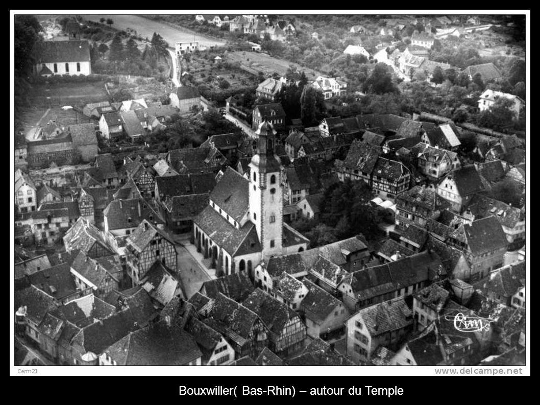 Bouxwiller( Bas-Rhin) – autour du Temple