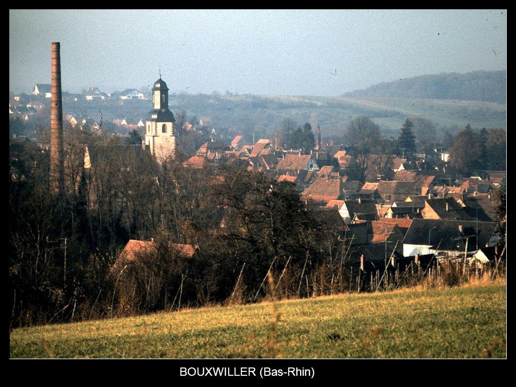 BOUXWILLER (Bas-Rhin)