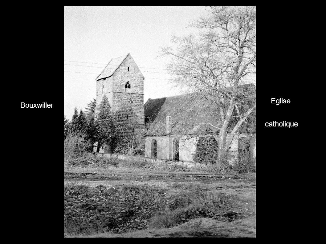 Eglise catholique Bouxwiller