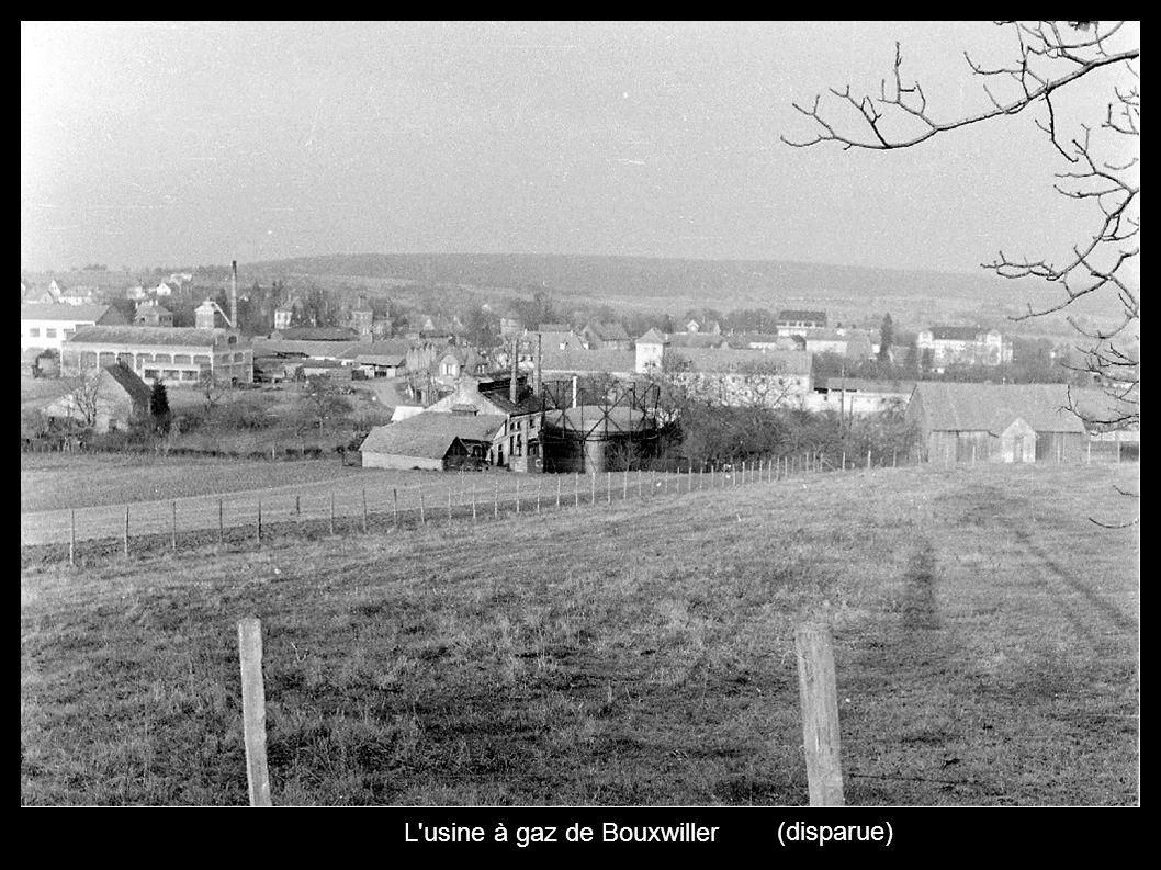 L'usine à gaz de Bouxwiller (disparue)
