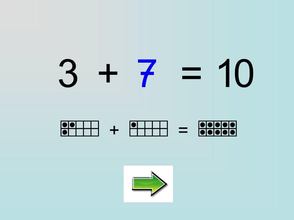 Clique sur la bonne réponse : 3+=10 ………… 1376