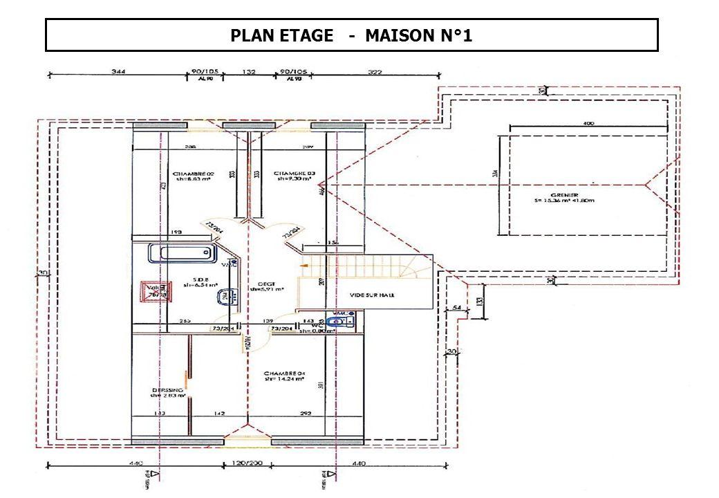 MAISON N° 2 - COURBOUZON Surface Terrain: 908 m²