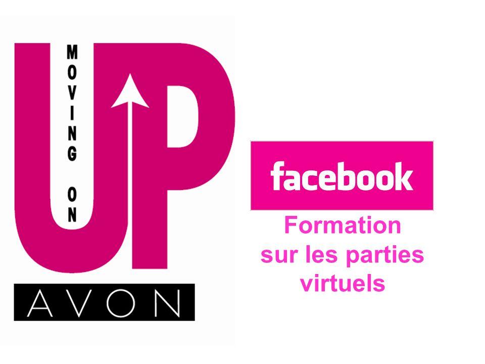 Facebook Formation sur les parties virtuels
