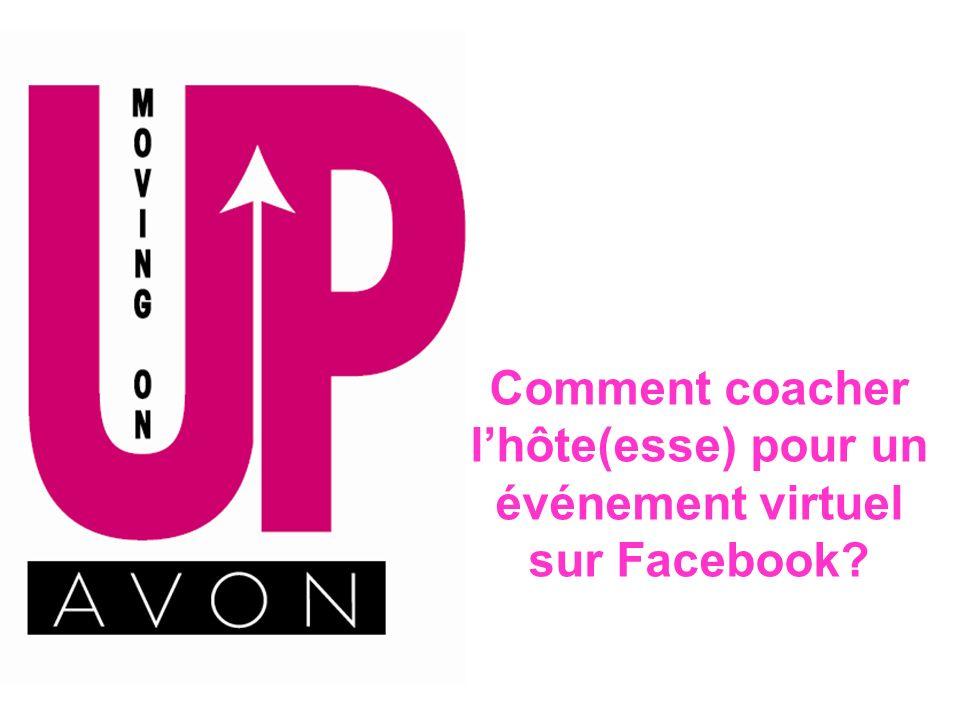 Comment coacher lhôte(esse) pour un événement virtuel sur Facebook?