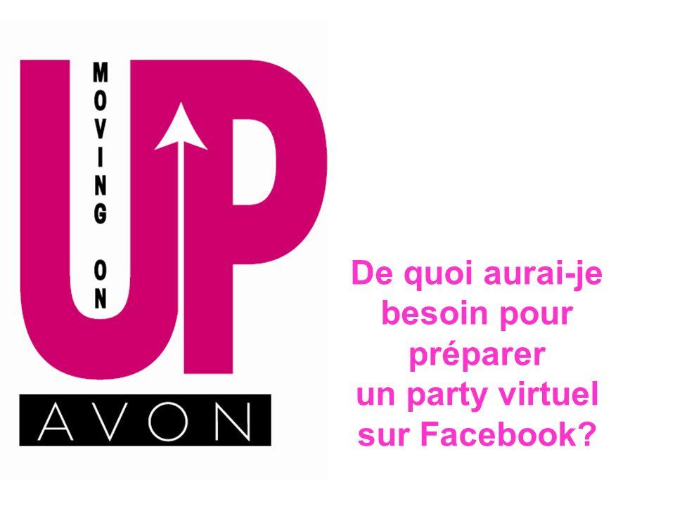 De quoi aurai-je besoin pour préparer un party virtuel sur Facebook?