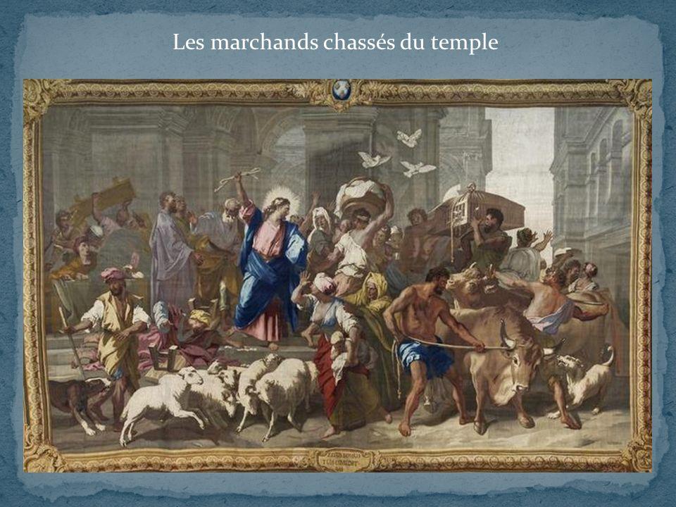 Évangile selon saint Matthieu (XXI) Évangile selon saint Marc (XI) 12 - Jésus entra dans le temple de Dieu.