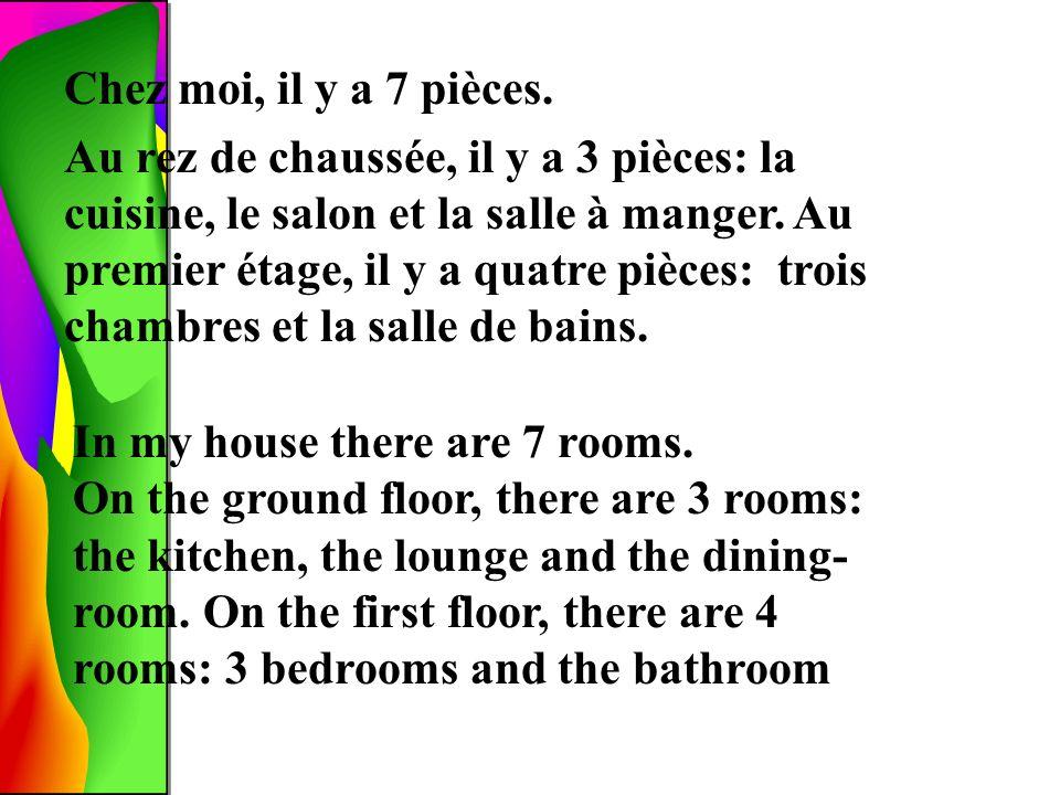 Le rez-de-chaussée Le premier étage