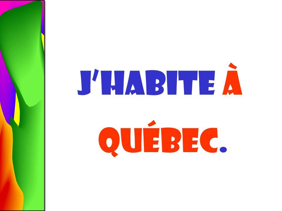 QUÉBEC À qUÉBEC Québec