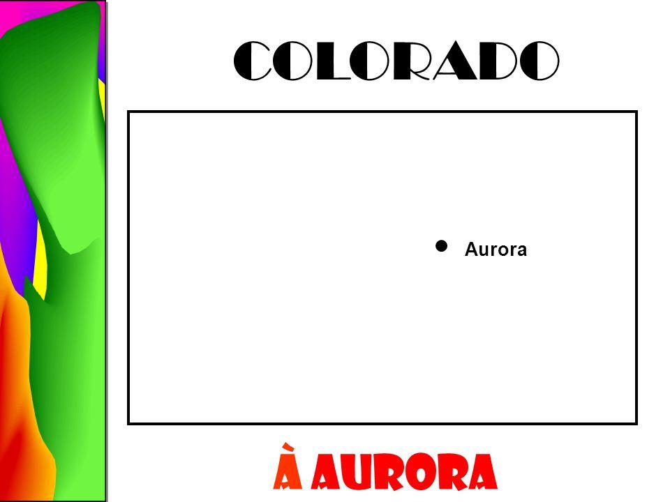 Aurora COLORADO À AURORA