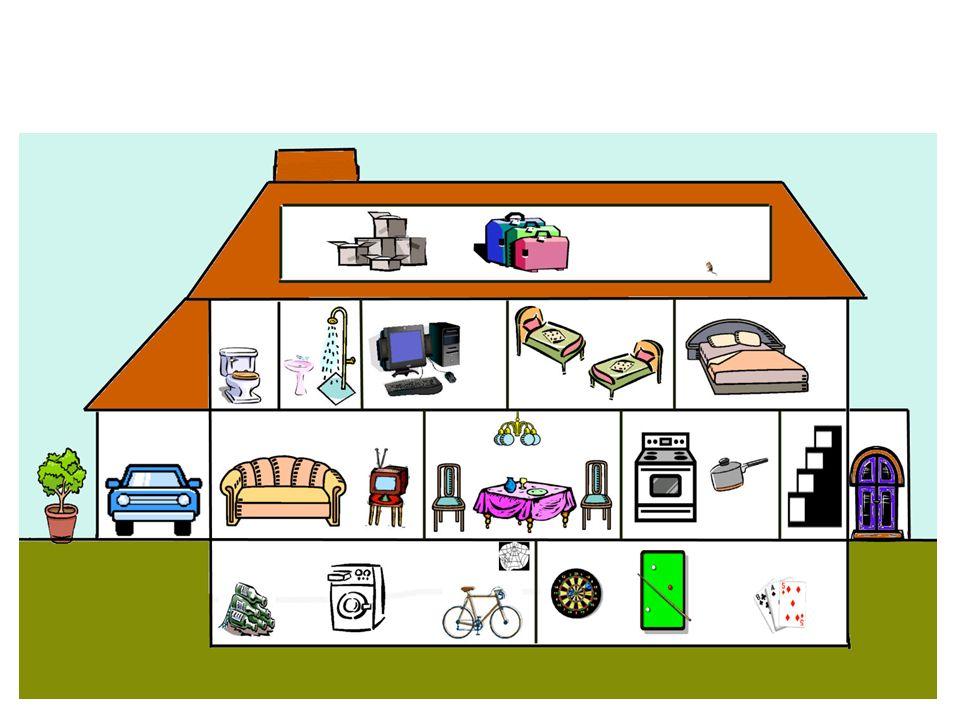 Travaillez avec un partenaire A : Quest-ce quil y a dans ta maison.