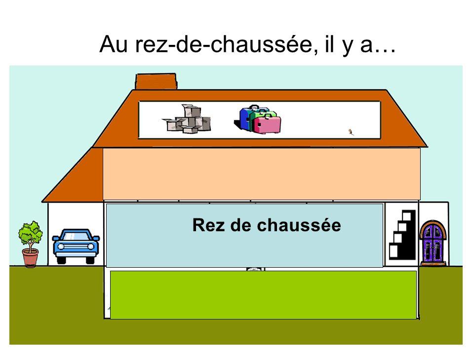 Dans ma maison, il y a quatre étages. Le sous-sol Le rez-de-chaussée Le premier étage La mansarde
