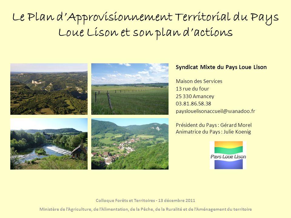 23 279 habitants 77 communes 3 communautés de communes 2 rivières, la Loue et le Lison 1 territoire rural très proche de lagglomération bisontine 18 élus et 2 agents Le Pays Loue Lison en Franche-Comté