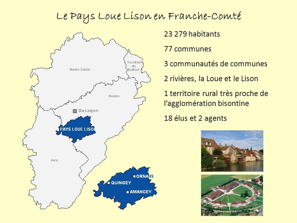 36 000 hectares de forêt soit 53% du territoire Forte tradition de laffouage Couverture forestière du Pays Loue Lison Source : SMPLL, 2011 ; IFN, 2006