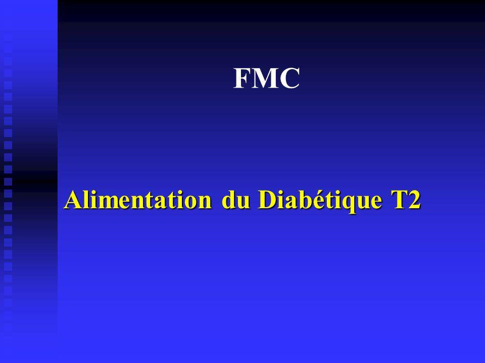 FMC Alimentation du Diabétique T2