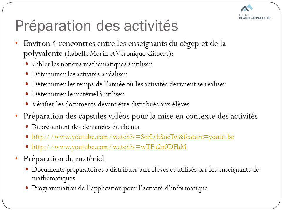 Activité de génie civil (suite) Implantation des fondations dune maison (partie 2)