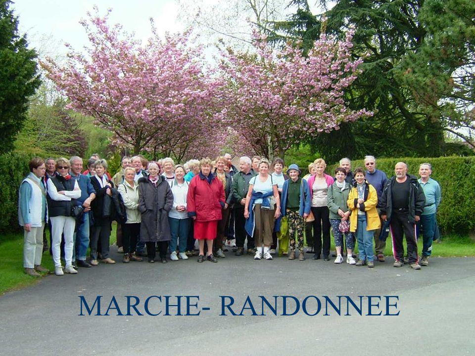 MARCHE- RANDONNEE