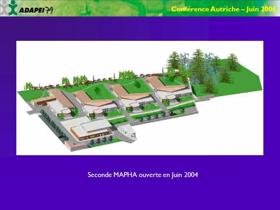 Conférence Autriche – Juin 2006 Seconde MAPHA ouverte en Juin 2004