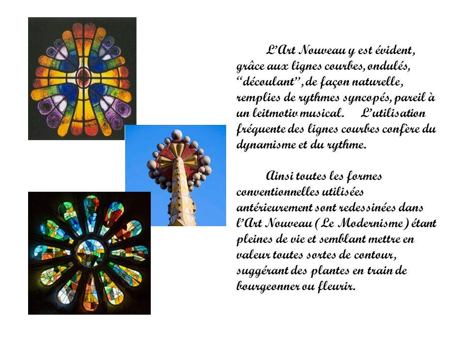 Lextraordinaire legs de Gaudi, qui domine larchitecture de Barcelone, se caractérise par le sens de la joie et de lexubérance.
