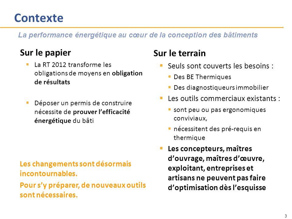 Contexte Sur le papier La RT 2012 transforme les obligations de moyens en obligation de résultats Déposer un permis de construire nécessite de prouver