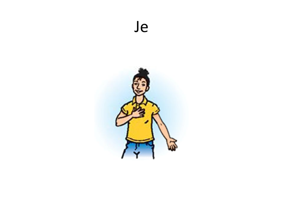 + Je _____ américain(e). suis
