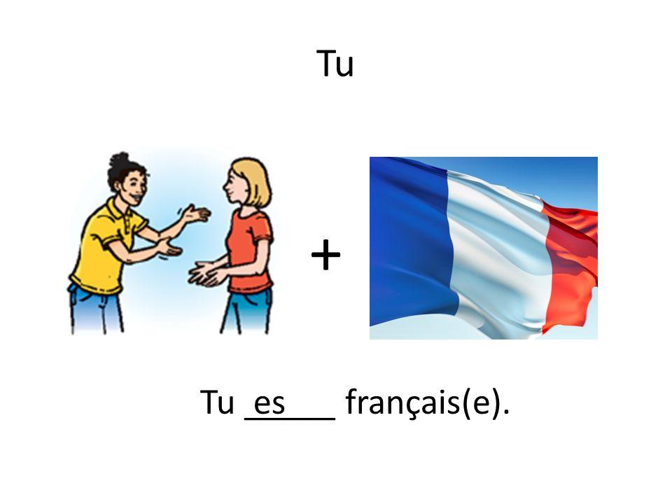 Tu + Tu _____ français(e).es