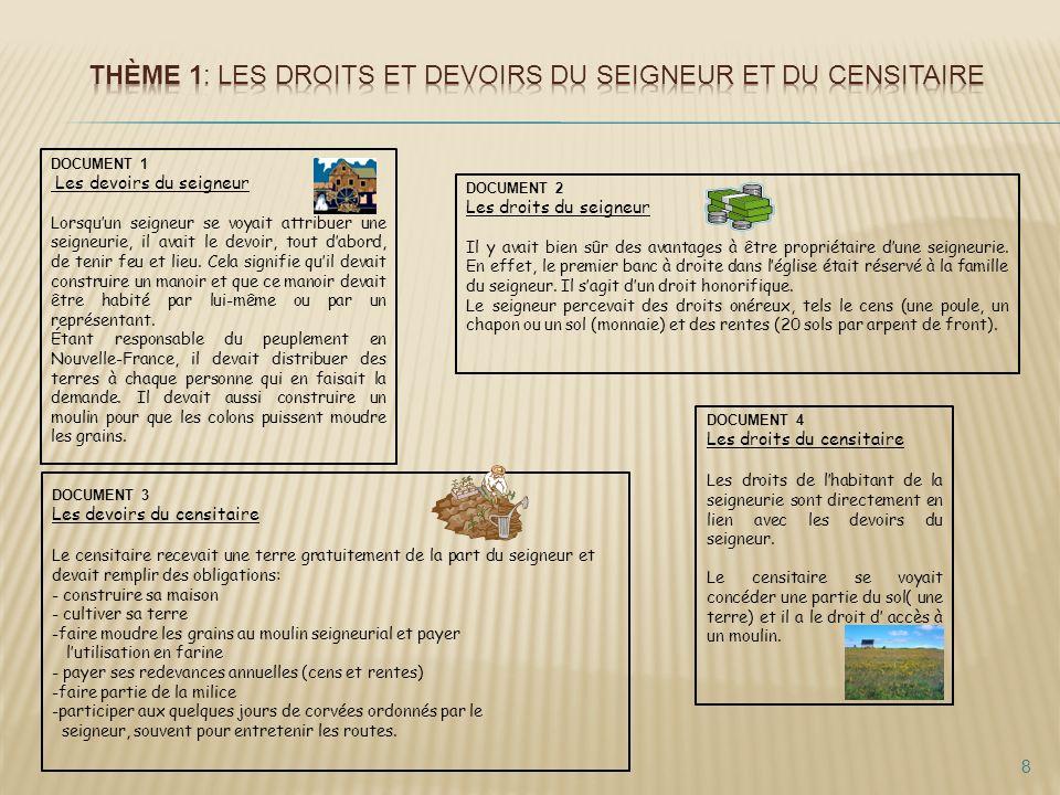 Commune : Lieu, généralement situé près dun cours deau, accessible à tous les habitants de la seigneurie pour envoyer paître les animaux.