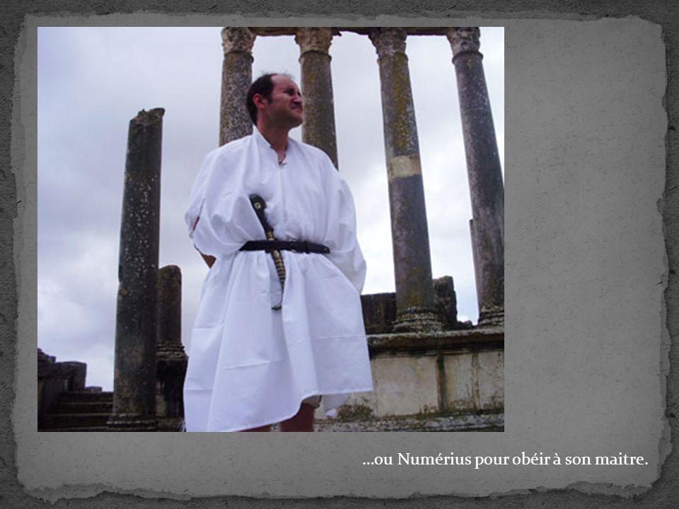 …ou Numérius pour obéir à son maitre.