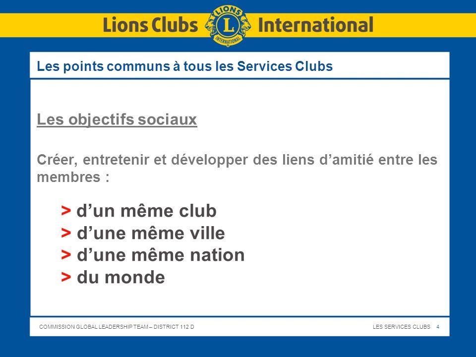 Le Lions Club ici, insérez le nom de votre Club (en arial 44) Présentation
