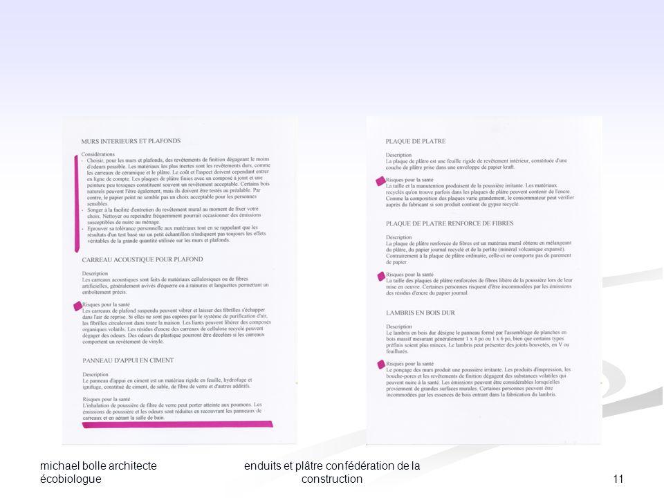 michael bolle architecte écobiologue 11 enduits et plâtre confédération de la construction