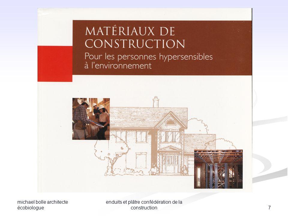 michael bolle architecte écobiologue 7 enduits et plâtre confédération de la construction