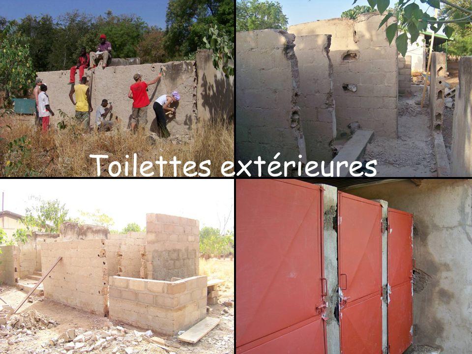 Toilettes extérieures