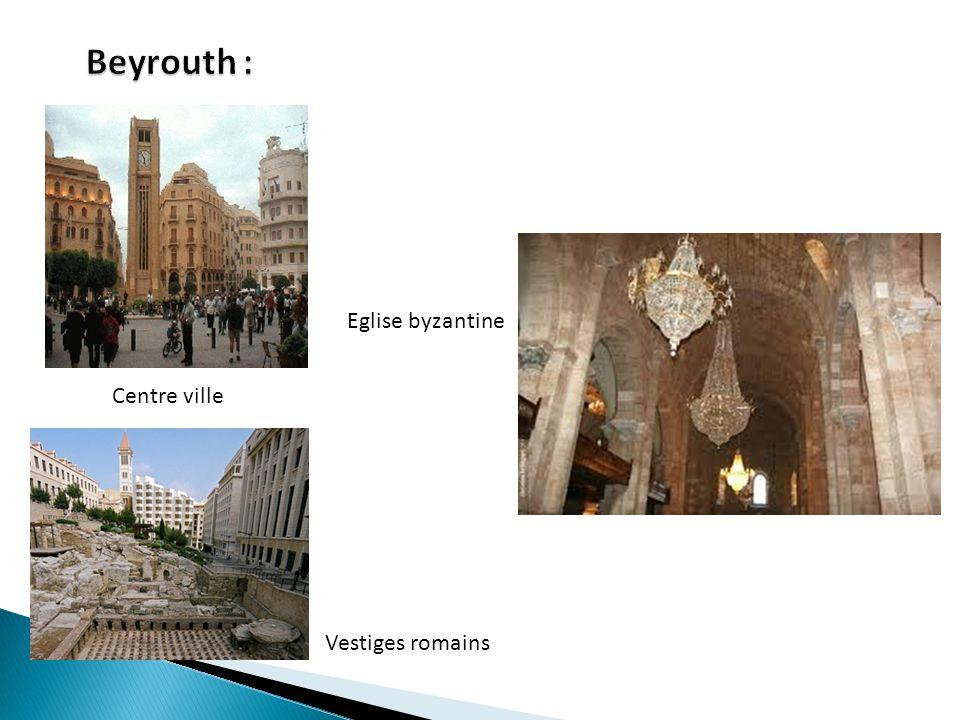 Vestiges romains Centre ville Eglise byzantine