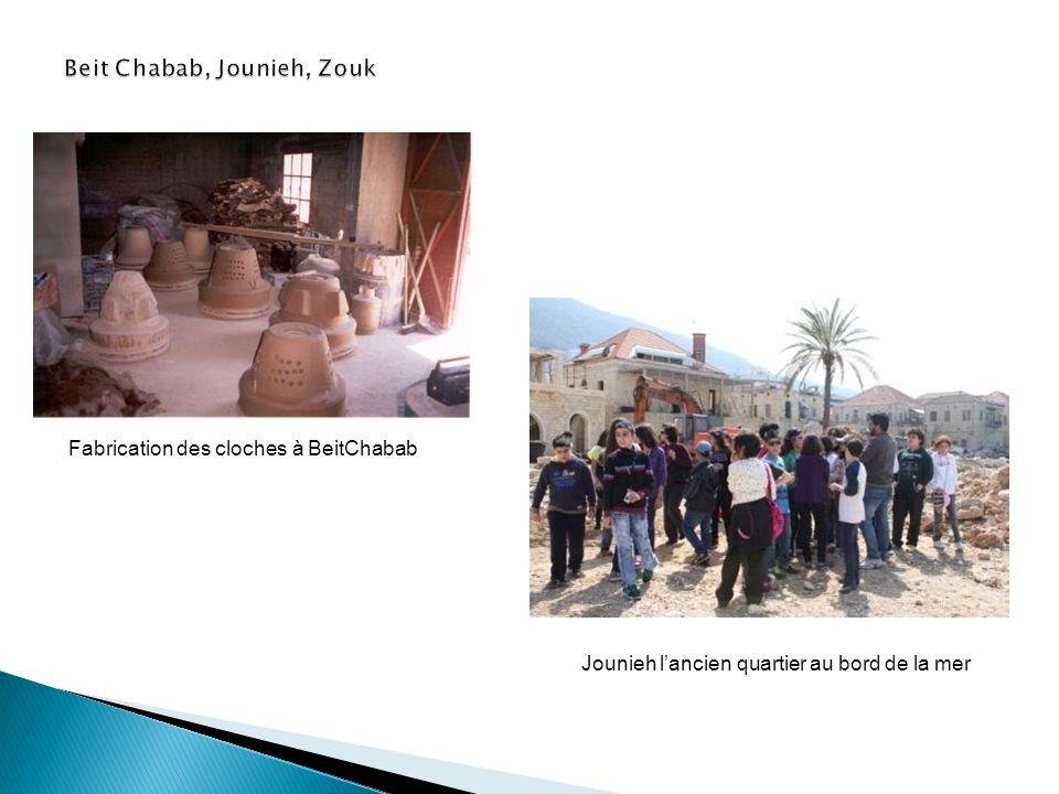 Jounieh lancien quartier au bord de la mer Fabrication des cloches à BeitChabab