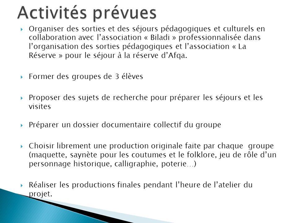 Valoriser limplication des élèves à ces activités en les filmant.